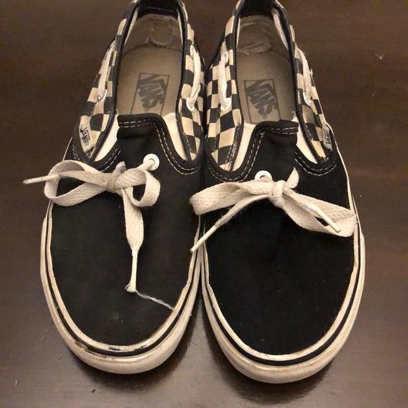 Vans Shoes | Vans Black White Checkered
